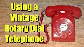 Using A Vintage Rotary Dial Telephone 2: Same Phone, Second Try! (Western Electric Model 500)