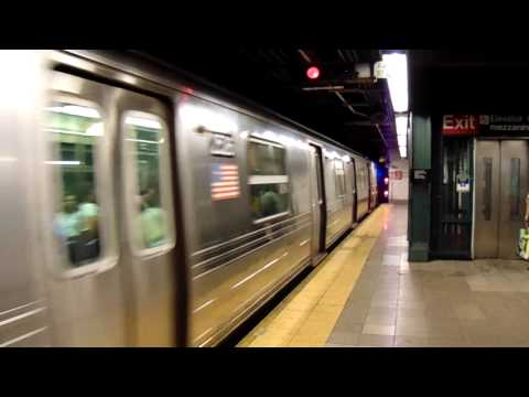 MTA New York City Subway R68 on Line D IND Sixth Avenue Line