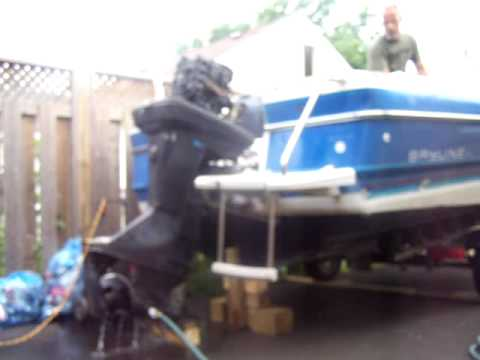 125 force running on hose for sale youtube for 125 hp force outboard motor for sale