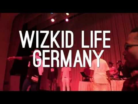 Wizkid - Live show in Germany (Halle Saale) Covered By NGD MUSIC PRODUCTION