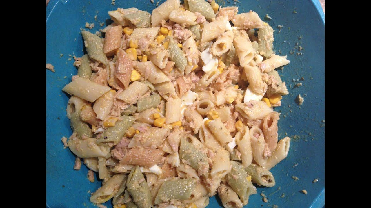 Ensalada de pasta con at n youtube - Ensalada de arroz con atun ...