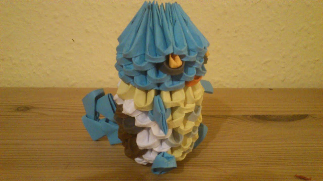 3D Origami Pokemon Shiggy