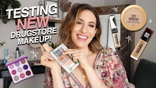 Testing NEW DRUGSTORE Makeup! Omg.. SO MANY Winners!! | Jamie Paige