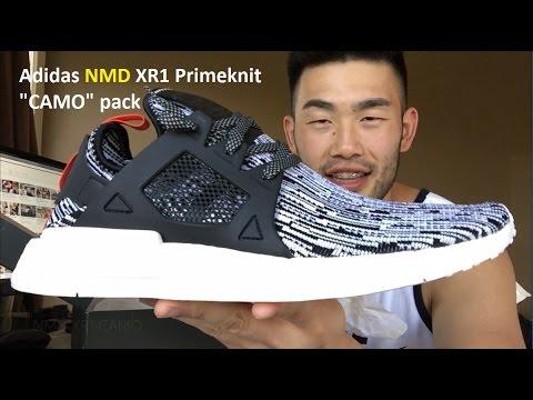 Adidas NMD XR1 Primeknit Olive PK S81530 US 8 nmd r1