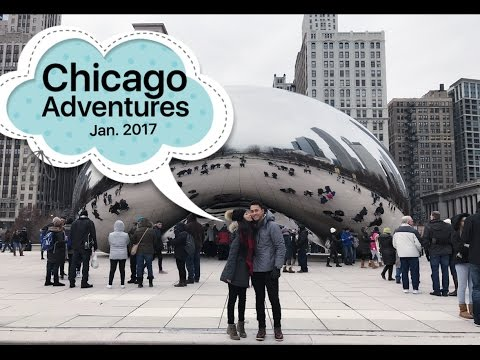 Chicago Adventures 2017 ☁ ☂ | Travel Vlog