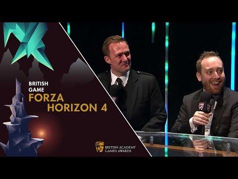 Forza Horizon 4 on Success at the BAFTAS | BAFTA Games Awards 2019 thumbnail
