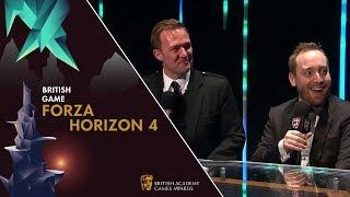 Forza Horizon 4 on Success at the BAFTAS | BAFTA Games Awards 2019