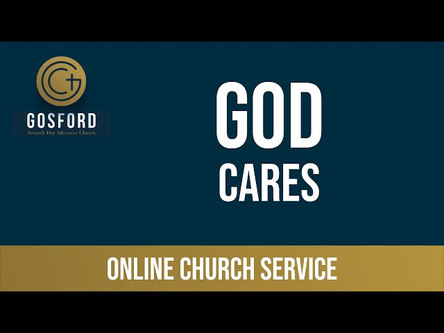 March 28 — Online Church Service — God Cares