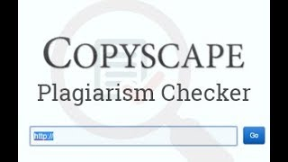 Introduction to Copyscape Plagiarism Checker | How to use Copyscape