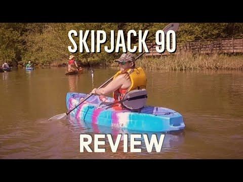 Vibe Kayaks Skipjack 90 Review - Lightweight Fishing Kayak