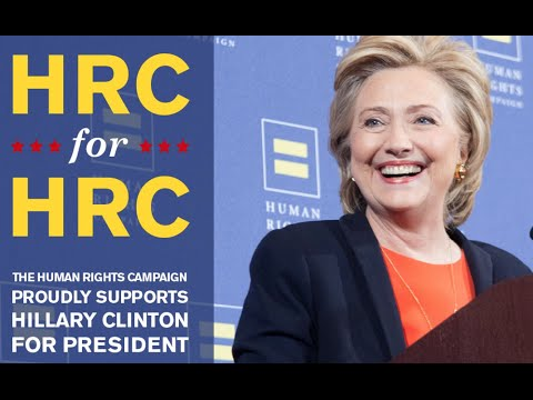 Human Rights Campaign Endorsed Hillary Clinton in Spite of Anti-Gay Past