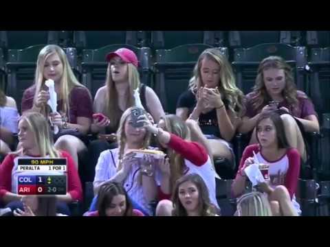 Announcers Make Fun Of Sorority Girls At Baseball Game
