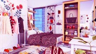 The Sims 4: Строительство | Квартира для матери-одиночки