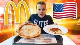 🍕🍝 MANGIO la PIZZA e la PASTA del MC DONALD'S in AMERICA!