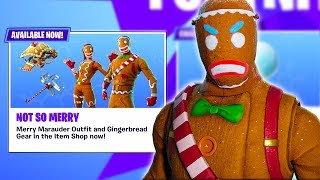 """The """"GINGERBREAD"""" Skins Are BACK In FORTNITE! 