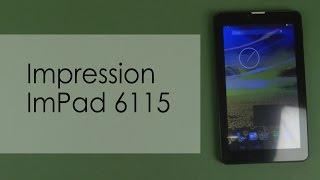 Распаковка Impression ImPad 6115