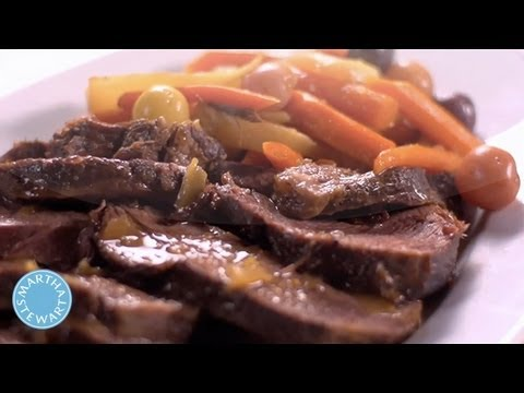 Braising Pot Roast⎢Martha Stewart