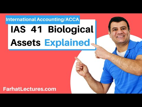 IAS 41 | Biological Assets | Agriculture Activity | Accounting for Cannabis | IFRS Course