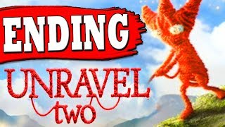 "UNRAVEL 2: ENDING FINAL LEVEL 7: At The Rapids Walkthrough ""Unravel 2 Game All Endings"""