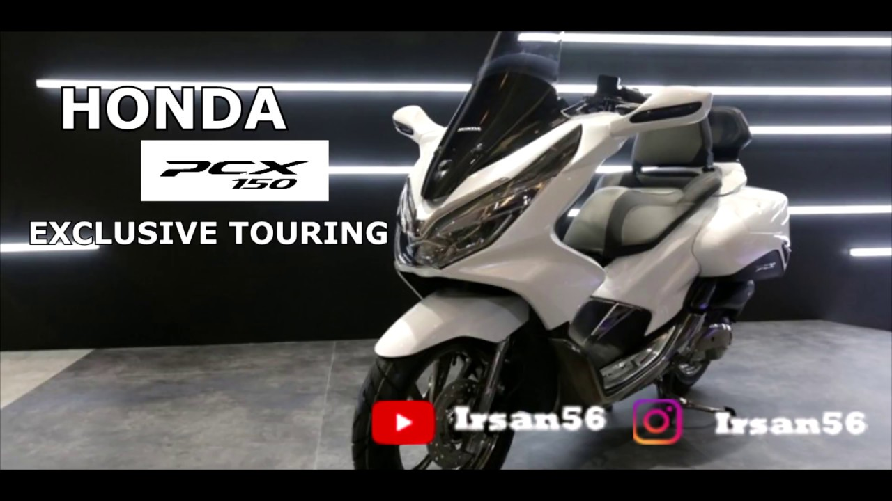 Modifikasi Honda PCX 150 Lokal Exclusive Touring YouTube