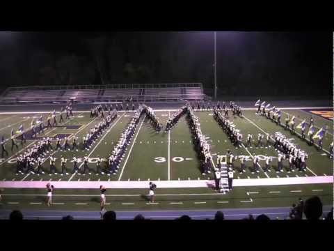 Michigan Marching Band at Chelsea High School Sept-2008