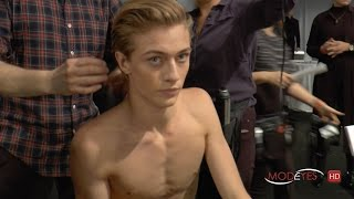 BEAUTY TALK: MICHELE MAGNANI @ DSQUARED2 FALL 2016 - Exclusive from backstage