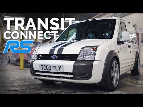 Ford Once Built a Transit Connect RS, and It Rules