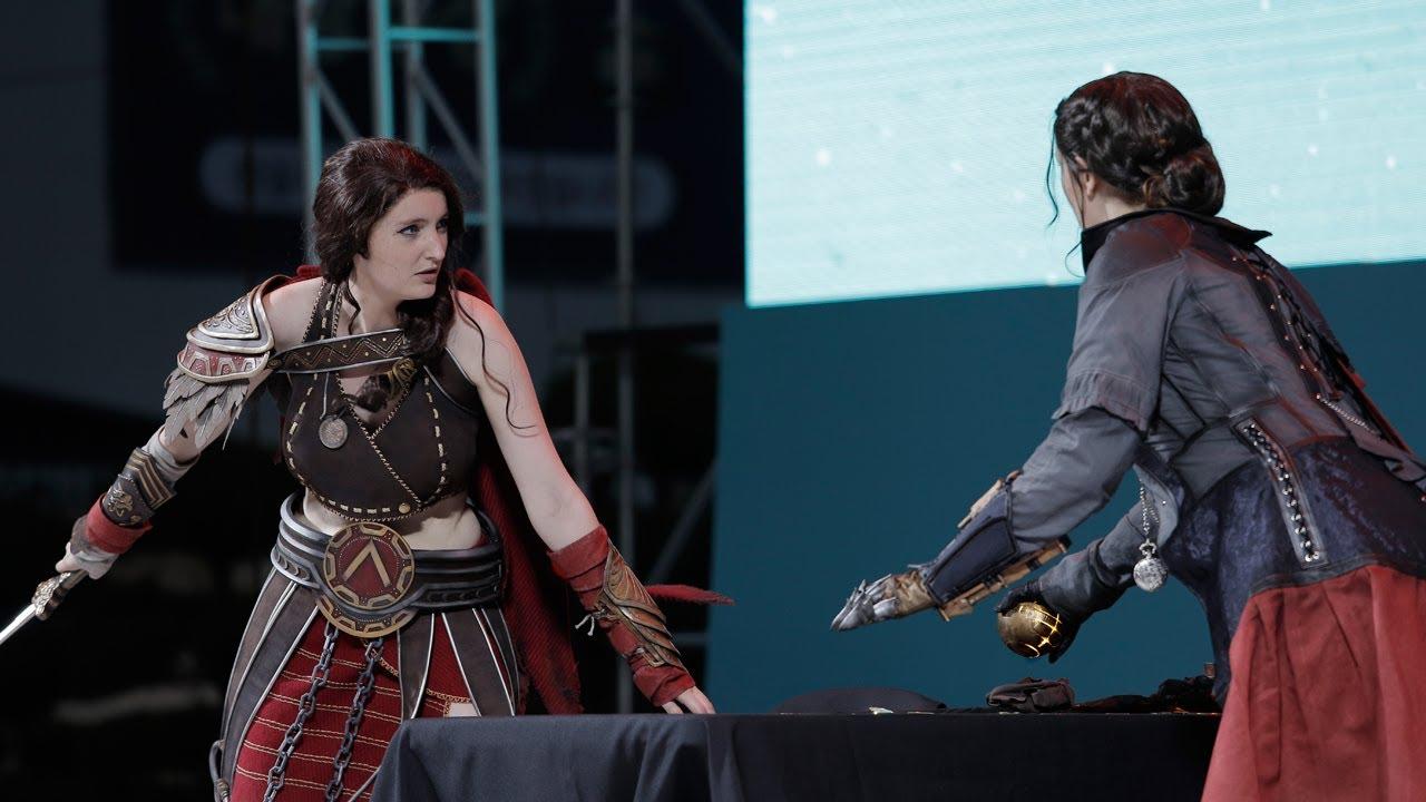 Ac Evie Frye Kassandra Cosplay Performance Gicof Finals