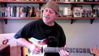 Eric Clapton - Cream Inspired Guitar Lick 7 - Blues Licks Guitar Lesson