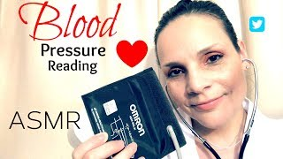 ASMR Doctor Checking your Blood Pressure   Personal Attention   Whispering  Writing Sounds