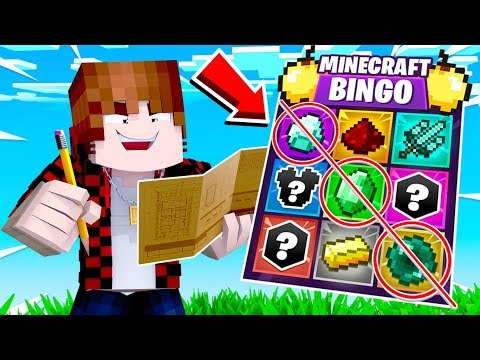 Minecraft BINGO Challenge with The Pack + Pete!