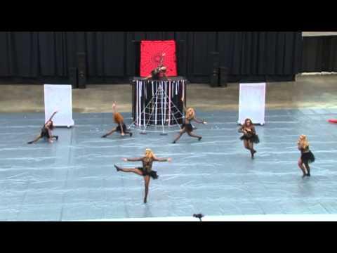 Central Mountain High School Dance Team Wildwood 2013