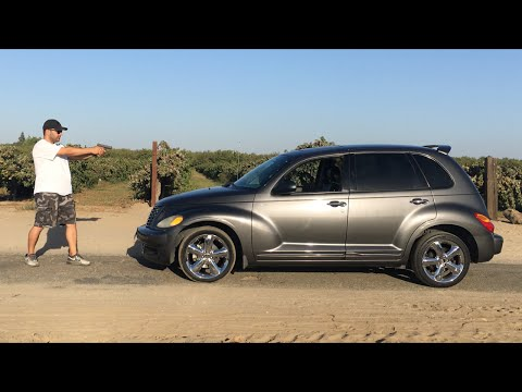 GLOCK 19 VS PT CRUISER - 9mm vs 40 s&w
