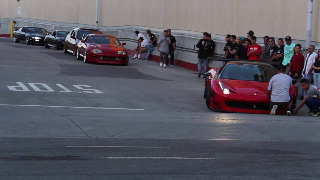 Ferrari 458 Wekfest San Jose Roll Out Youtube