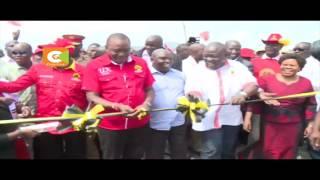 Rais aongoza Jubilee Nyanza, Kisumu na kupokewa vyema