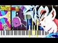 Dragon Ball Super ED10 - 70cm Shihou no Madobe | Piano Tutorial