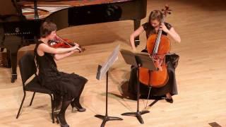 """Michael Hersch: """"After Hölderlin's 'Hälfte des Lebens'"""" for viola a..."""