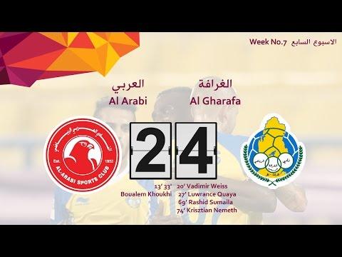 Al Gharafa 4-2 Al Arabi (week 7)