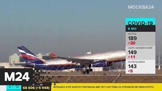 В Аэрофлоте сообщили когда могут восстановить полеты за границу Москва 24