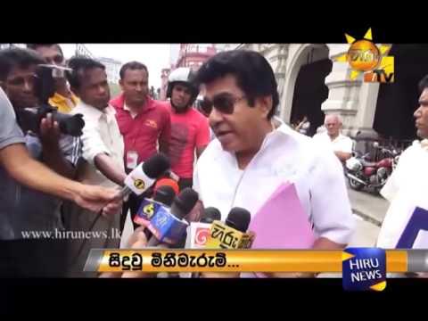 Lasantha Wickrematunge and Baratha Lakshman Premachandra killed by Gotabhaya Rajapaksa Mervyn Silva