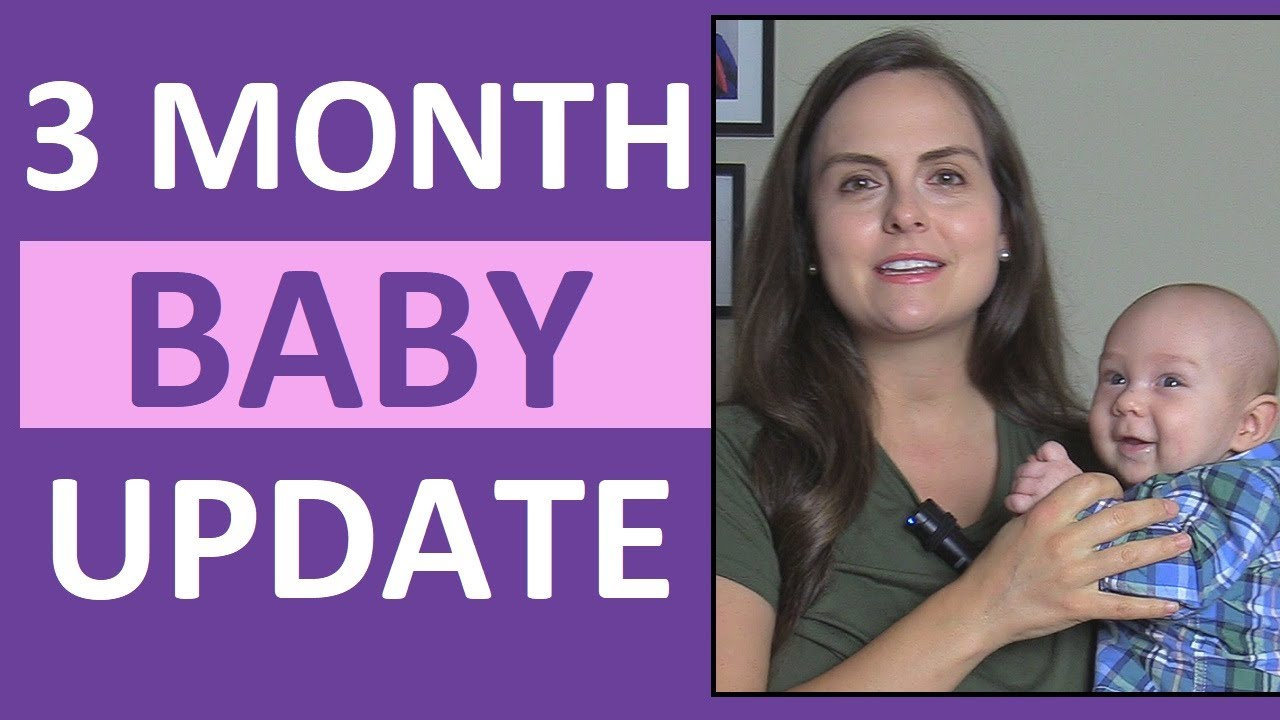 3-Month-Old Baby Development (Smiling, Laughing) & Postpartum Update