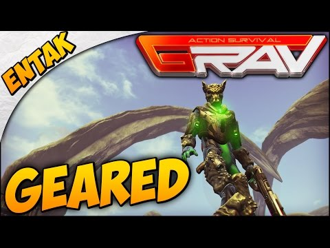 GRAV Gameplay ➤ Ore Sword, Fossil Armor, & Level 17