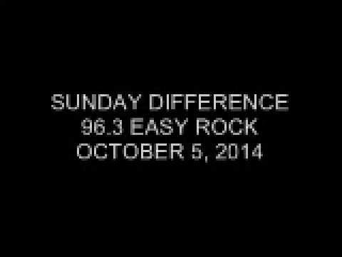 Sunday Difference 96.3 Easy Rock October 5, 2014 (3)