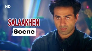 Sunny Deol Fights For His Father Anupam Kher - Salaakhen Movie - Superhit Movie