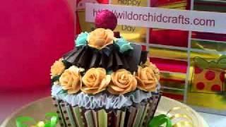 Woc - Designer Call - Cupcake Gift Card Holder