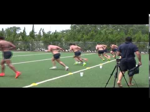 Pre-Championship YoYo Test | Los Pumas Argentina | Rugby Strength Coach