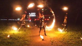 Фаер-шоу   Пиротехническое шоу   Огненное сердце   Театр огня и света «БезГраниц»