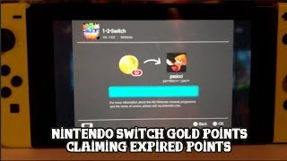 Nintendo Switch Claiming Expired Gold Points Youtube