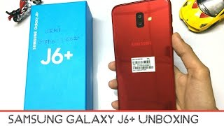 Samsung Galaxy J6 Plus Unboxing And First Impressions