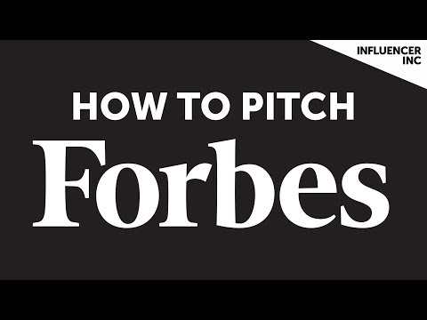 How To Pitch Forbes to Become a Contributor | Contributor Series | Influencer Inc.
